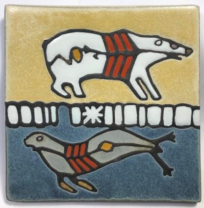Polar Bear and Seal