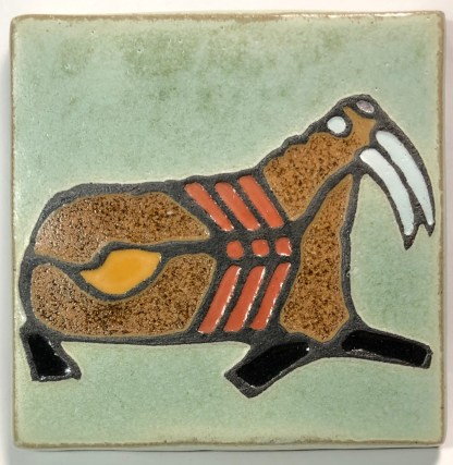 "4"" Walrus Art Tile"