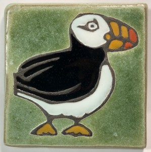 "4"" Common Puffin Facing Right"