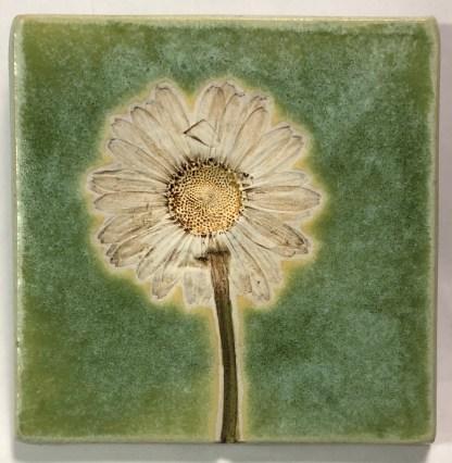 """4"""" Daisy Art Tile"""