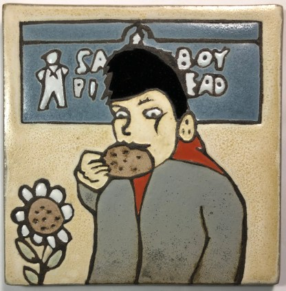 "6"" Sailorboy Art Tile"