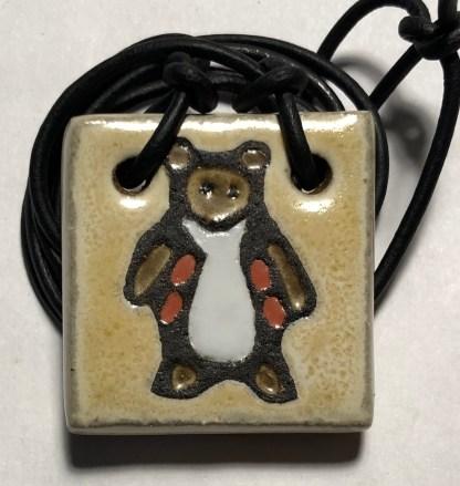 """1-1/2"""" Bear Pendant"""