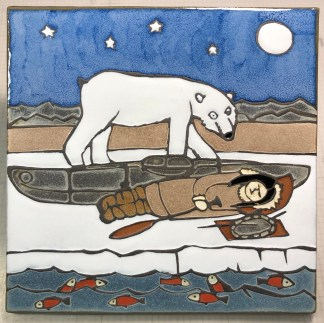 "12"" Sleeping Inuit Girl"