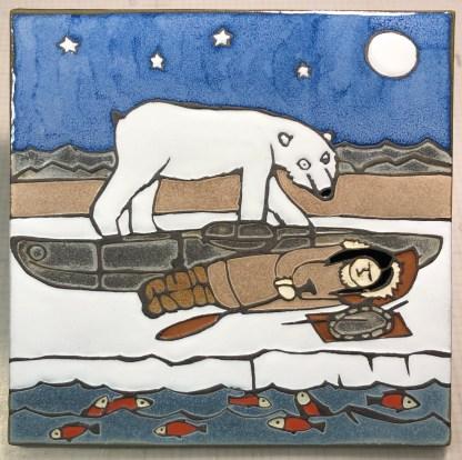 """12"""" Sleeping Inuit Girl"""