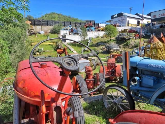 Museo de tractores.