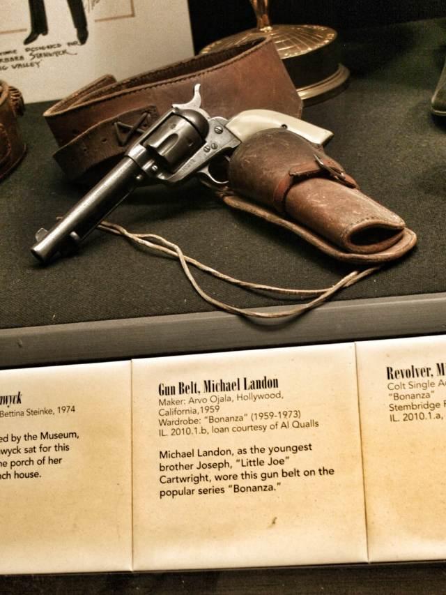 Michael Landonin pistoolikotelon sarjassa Bonanza oli tehnyt Arvo Olaja. Hyvä Suomi!