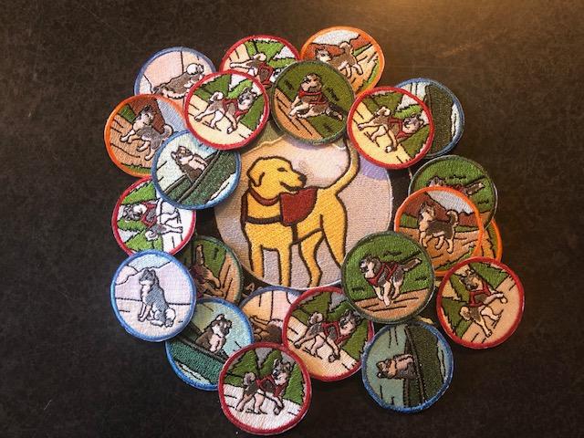Adventure Dog Club Merit Badges