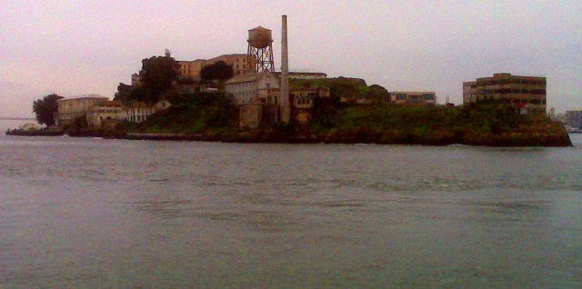 Alcatraz from Sausalito Ferry