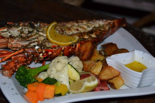 Grilled Lobster at Rose's Grill and Bar