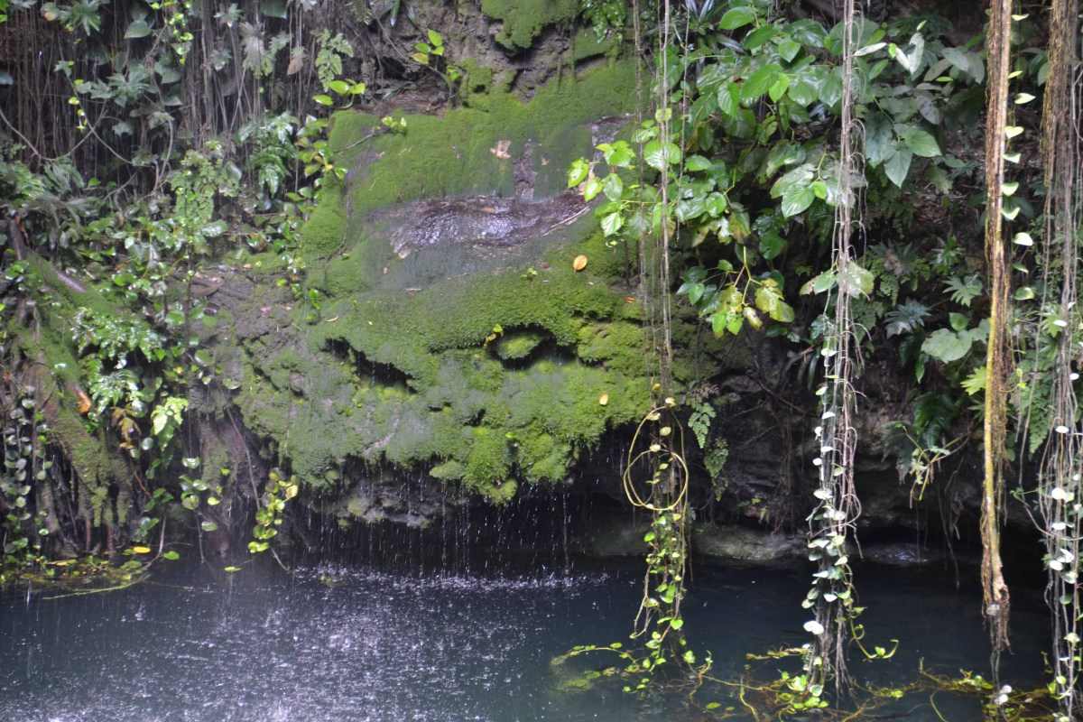 Ik Kil Cenote - An Untraditional Pool