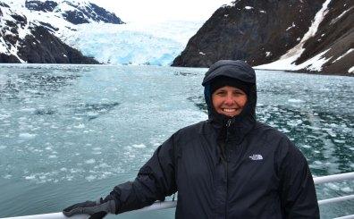Me at Holgate Glacier