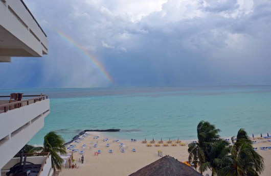 Room View with Rainbow