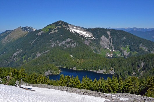 View of Mason Lake