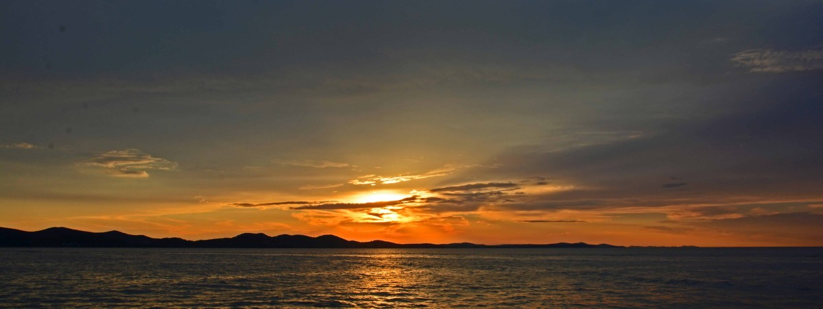 Sunset in Zadar Croatia