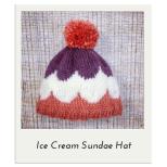 Ice Cream Sundae Hat