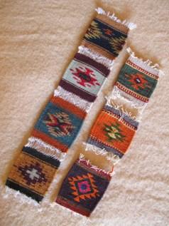 Handwoven Mini-rugs