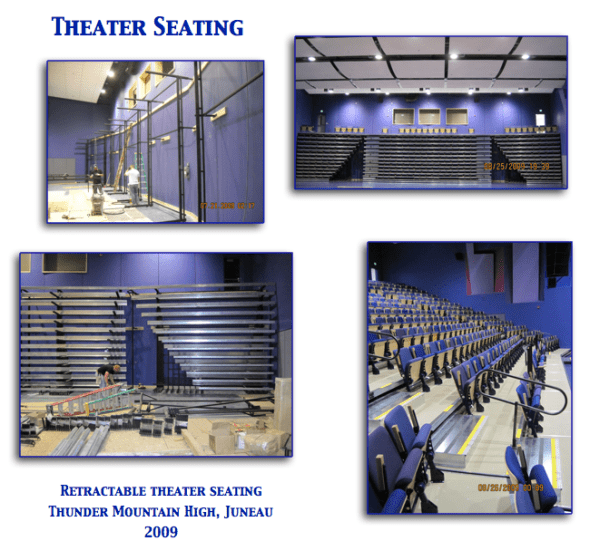 Retractable Theater Seating