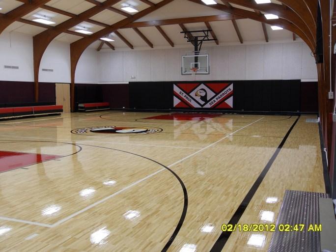 St. Paul total gym renovation