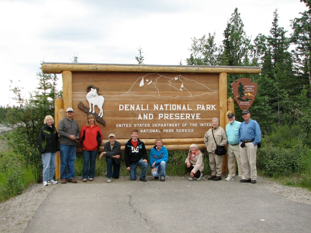 Denali National Park tour group