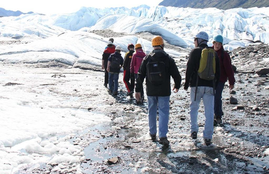 Alaska glacier trip package