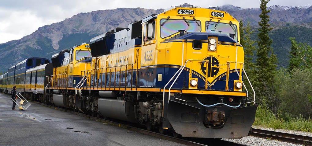 Alaska Railroad trip package