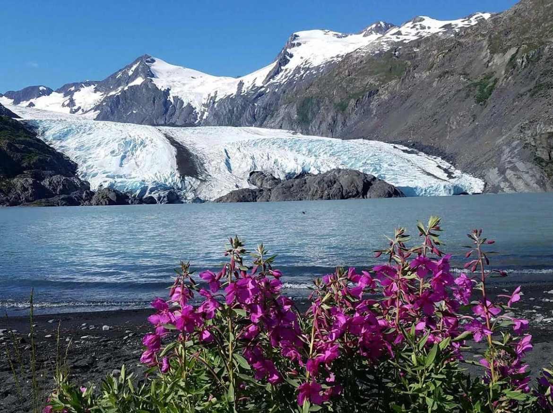 Portage Glacier Alaska tour