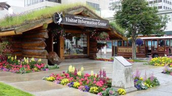anchorage alaska visitor center