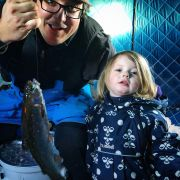 Kids ice fishing events this month