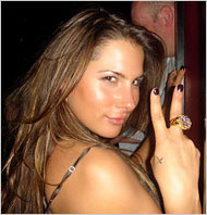 Ashley Alexandra Dupre is the woman named in the Eliot Spitzer scandal.