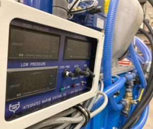 photo of marine refrigeration system