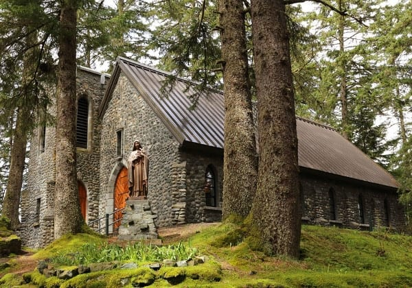 shrine-st-theresa, things to do in Juneau with Alaska Shore Tours