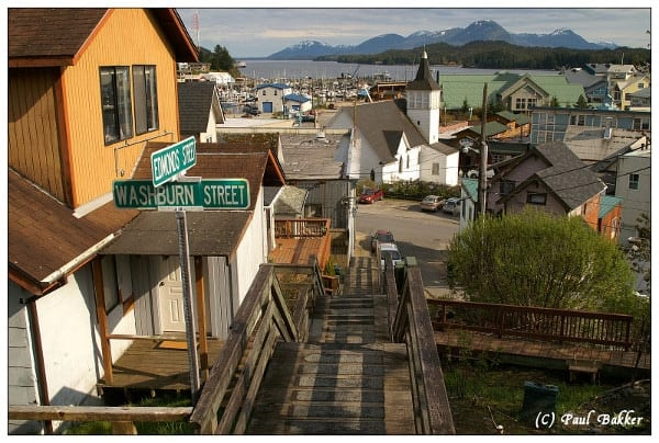 wooden-boardwalk, Alaska land excursions with Ketchikan Shore Tours