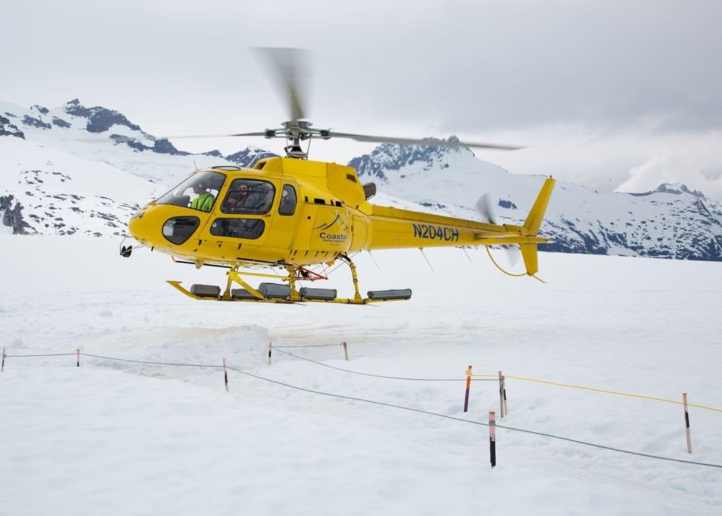 Juneau Helicopter Dogsled Glacier Excursion with Alaska Shore Tours