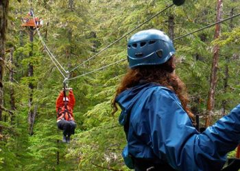 Alaska Zipline Adventure with Alaska Shore Tours
