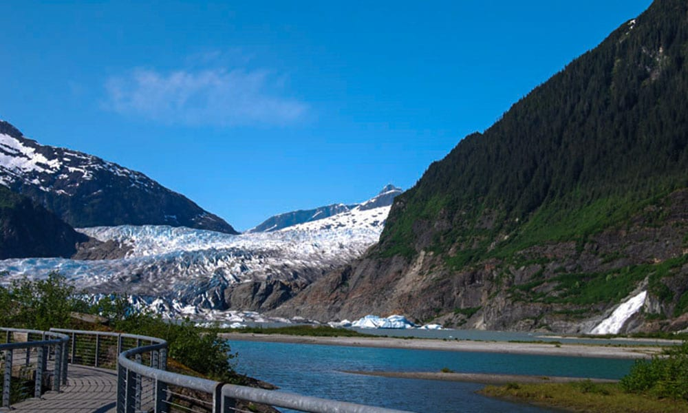 Whale Watching, Mendenhall Glacier, and Juneau City Tour