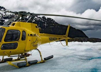 Helicopter & Dogsled with Extra Landing with Alaska Shore Tours