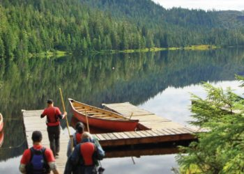 Rainforest Canoe and Nature Trail with Alaska Shore Tours