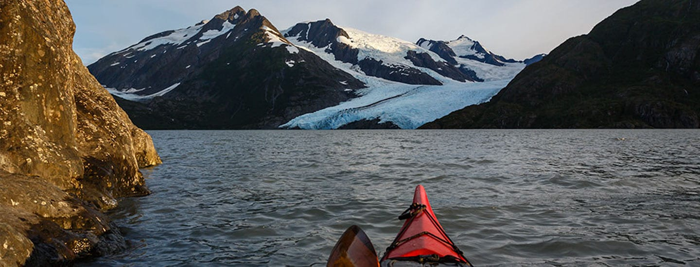 Private Mendenhall Lake Paddle Trek