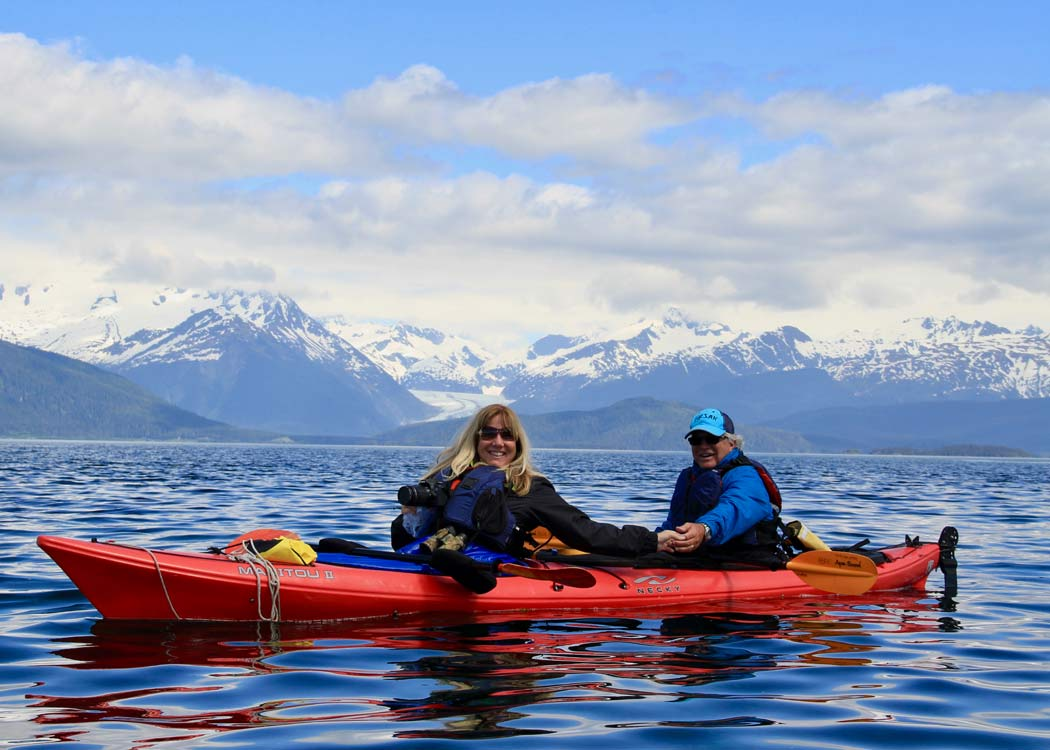 A Taste of Nature Kayak and Gourmet Food Adventure with Alaska Shore Tours