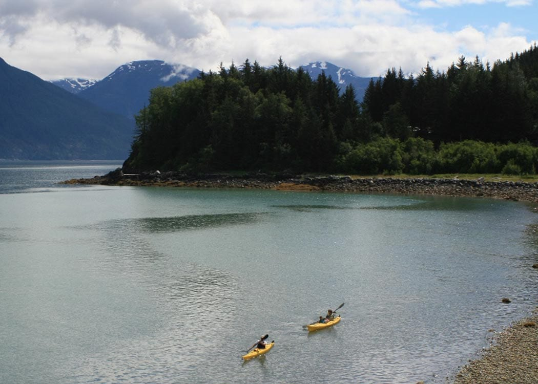 Inside Passage Kayak with Alaska Shore Tours