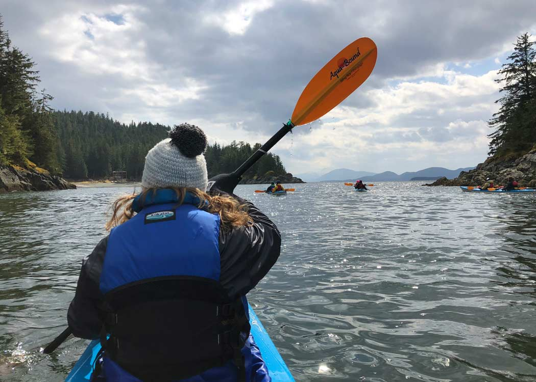 Taste of Nature Kayak and Gourmet Food Adventure with Alaska Shore Tours