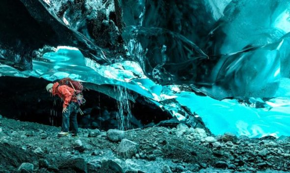 Mendenhall Ice Caves