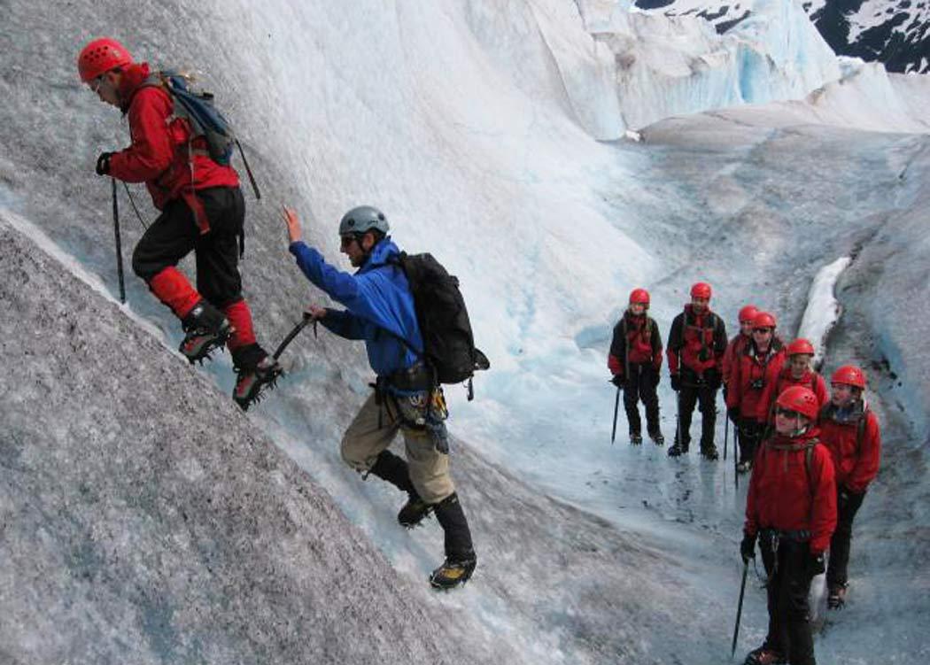 Extended Helicopter Glacier Trek with Alaska Shore Tours