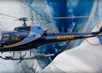 Extended Helicopter Glacier Trek with Alaska Shore Tours