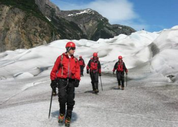 Helicopter Glacier Trek with Alaska Shore Tours