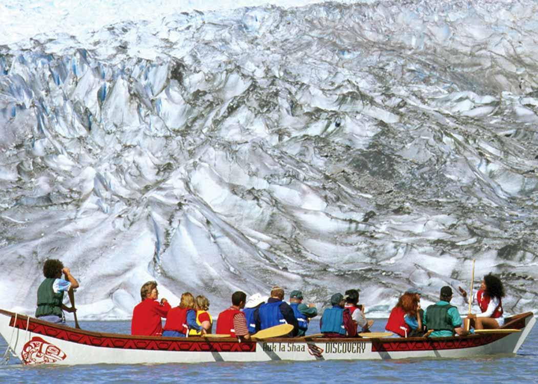 Mendenhall Lake Canoe Adventure
