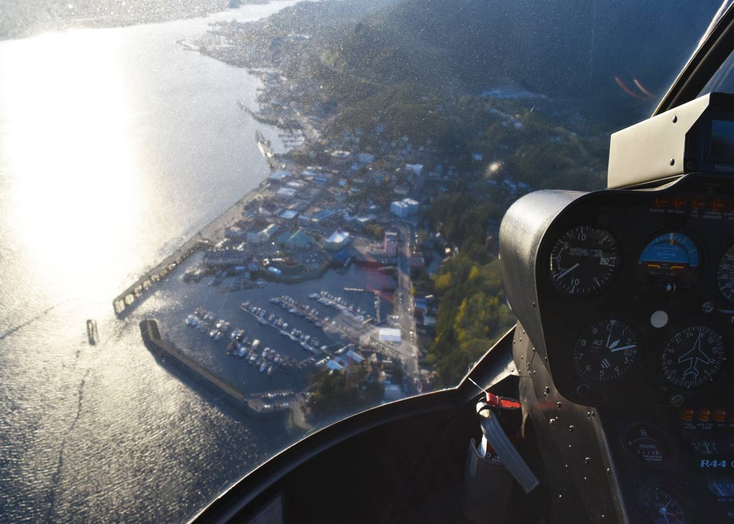 Top of the World Helicopter Tour with Alaska Shore Tours