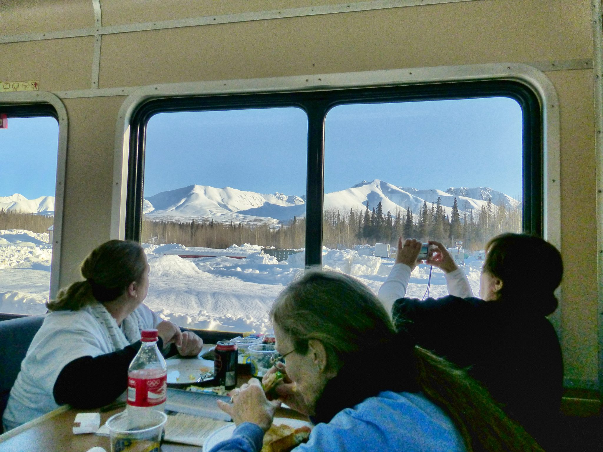 ALL A B O A R D The Mighty Alaska Railroads Aurora Train