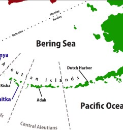 aleutian islands map aleutian islands map [ 1200 x 741 Pixel ]