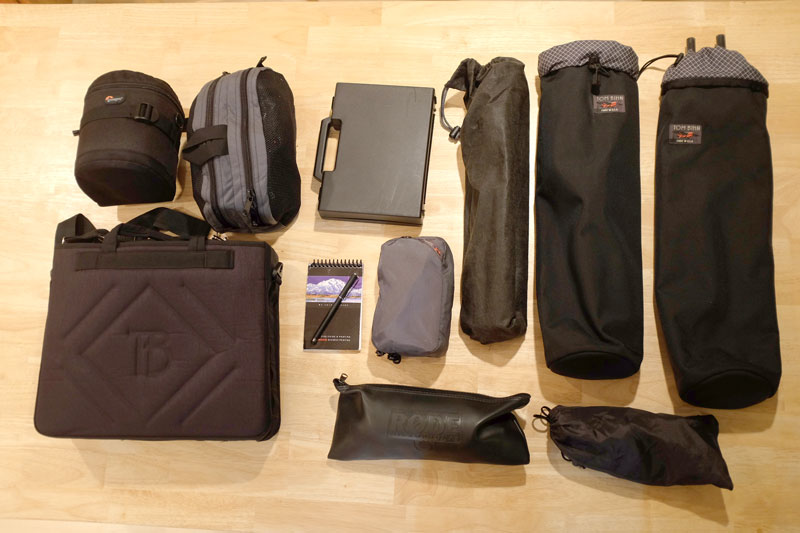 Complete Documentary Filmmaking Kit in One Backpack ...